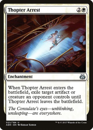 Thopter Arrest