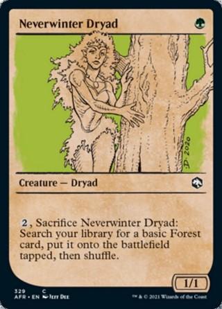 Neverwinter Dryad