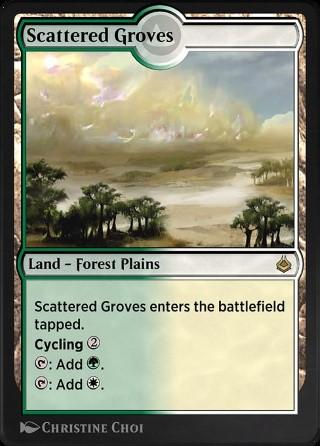 Scattered Groves