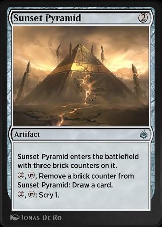 Sunset Pyramid