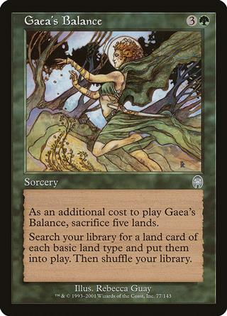 Gaea's Balance
