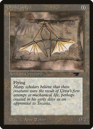 Ornithopter Mirrodin Ornitottero MTG