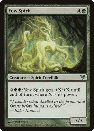 Yew Spirit