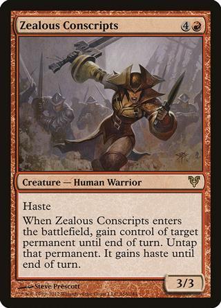 Zealous Conscripts