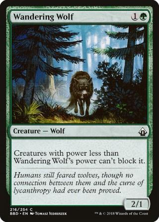 Wandering Wolf