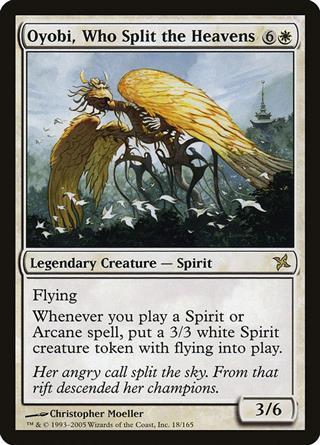 Oyobi, Who Split the Heavens