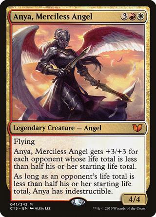 Anya, Merciless Angel