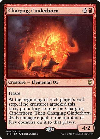 Charging Cinderhorn