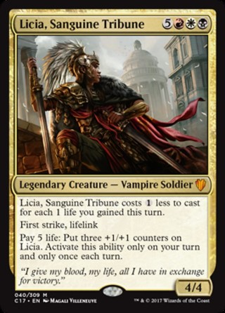 Licia, Sanguine Tribune