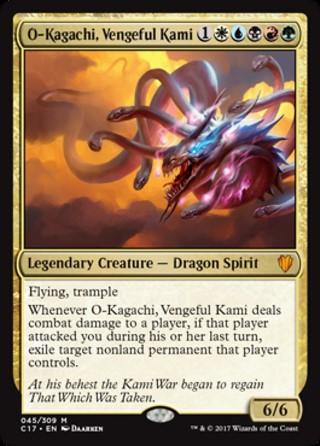 O-Kagachi, Vengeful Kami