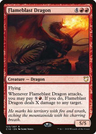 Flameblast Dragon
