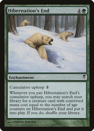 Hibernation's End