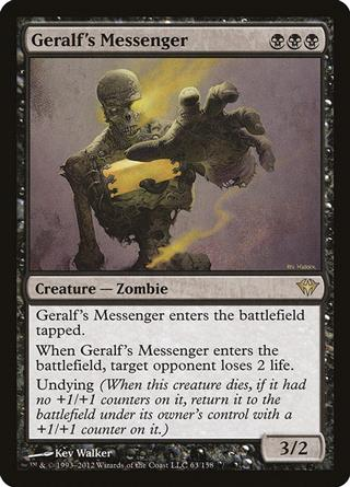 Geralf's Messenger
