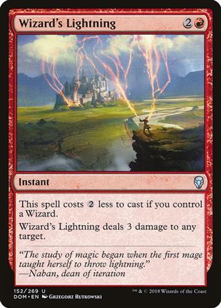 Wizard's Lightning