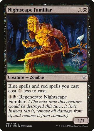 Nightscape Familiar