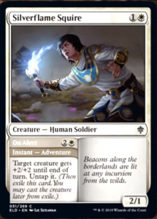 Silverflame Squire
