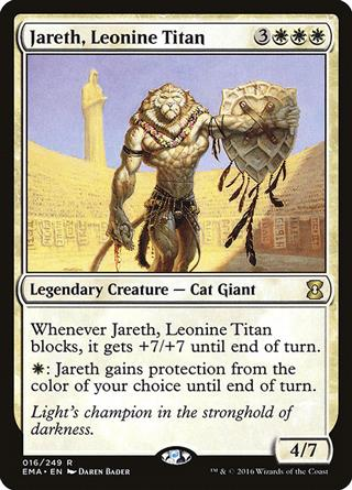 Jareth, Leonine Titan