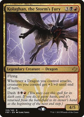 Kolaghan, the Storm's Fury