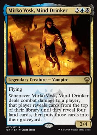 Mirko Vosk, Mind Drinker