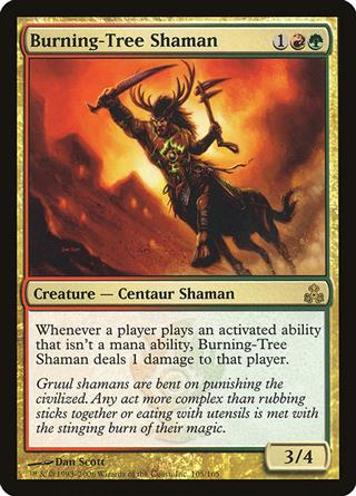Burning-Tree Shaman