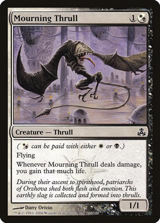 Mourning Thrull