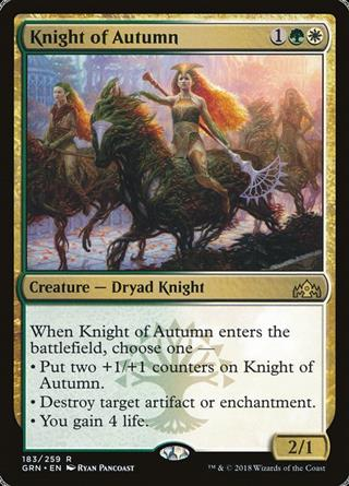 Knight of Autumn