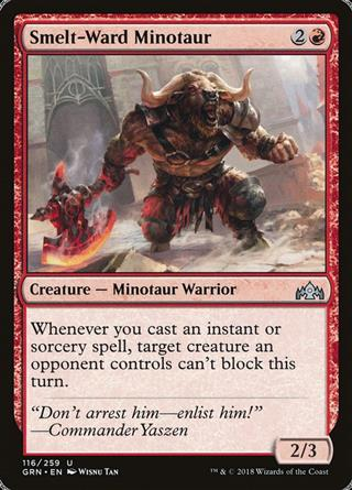 Smelt-Ward Minotaur