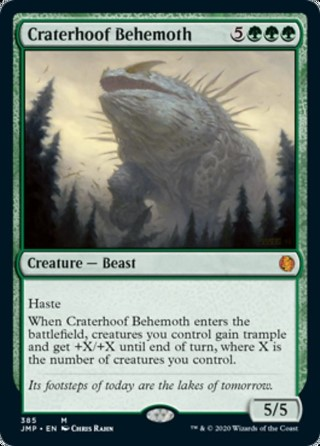 Craterhoof Behemoth
