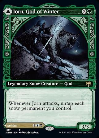Jorn, God of Winter