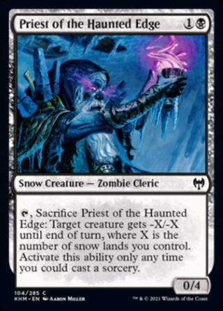 Priest of the Haunted Edge
