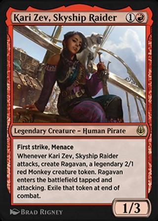 Kari Zev, Skyship Raider