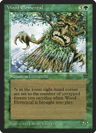 Wood Elemental