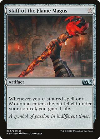 Staff of the Flame Magus
