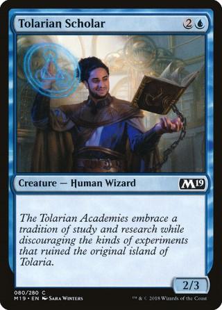 Tolarian Scholar