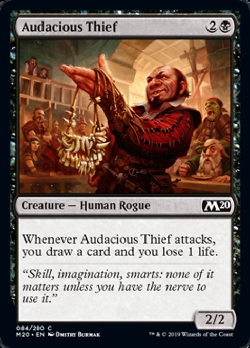 Audacious Thief