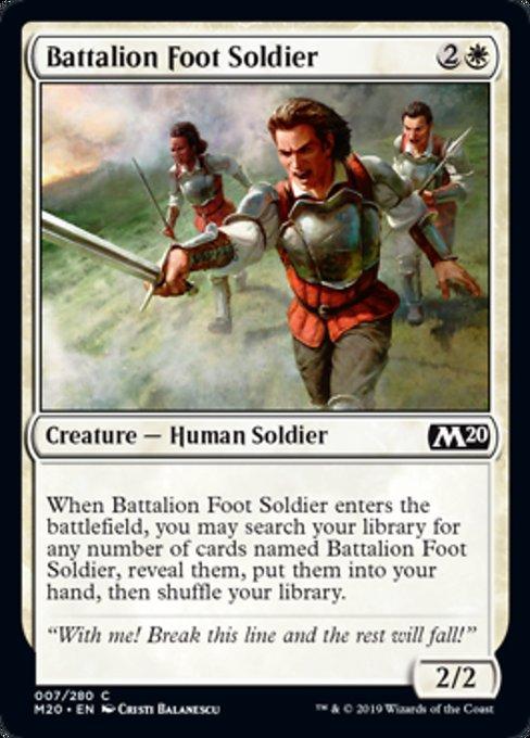 Battalion Foot Soldier