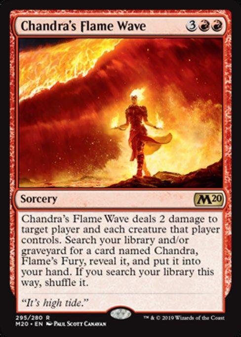 Chandra's Flame Wave