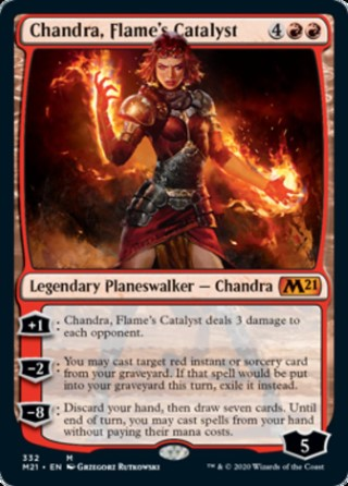Chandra, Flame's Catalyst