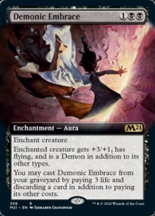 Demonic Embrace