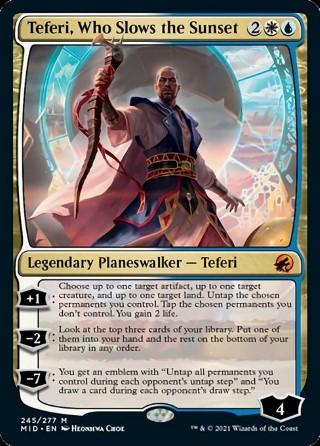 Teferi, Who Slows the Sunset