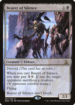 Bearer of Silence