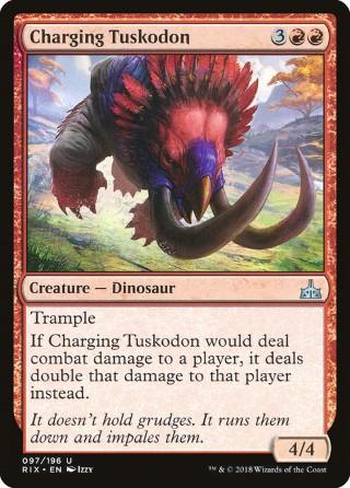 Charging Tuskodon