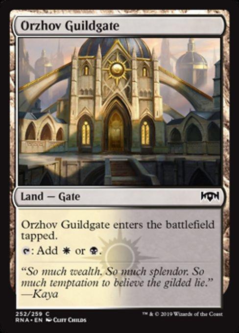 Orzhov Guildgate