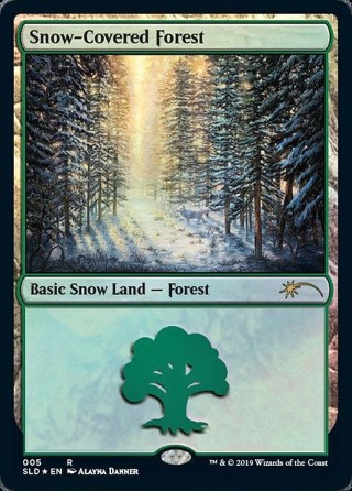 Snow-Covered Forest