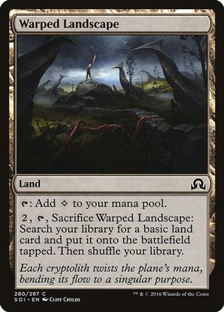 Warped Landscape
