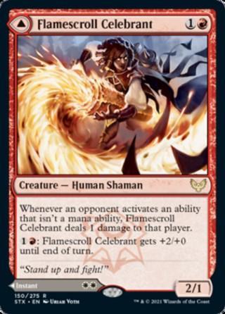Flamescroll Celebrant