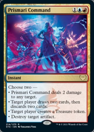 Prismari Command