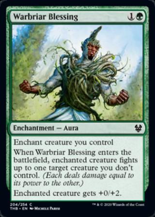 Warbriar Blessing