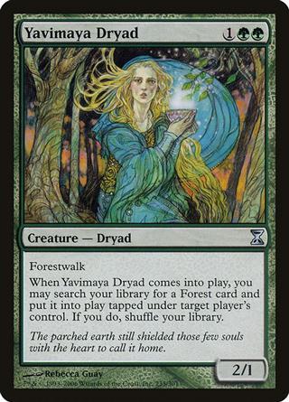 Yavimaya Dryad