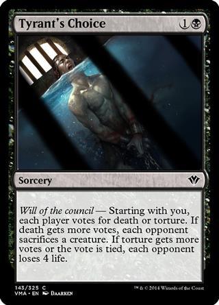 Tyrant's Choice